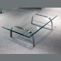 不銹鋼玻璃茶几 SSF0101