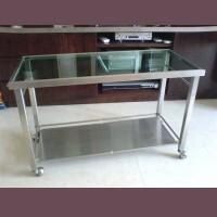 不銹鋼玻璃茶几 SSF0401