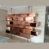 不銹鋼電鍍裝飾櫃 SSF1401