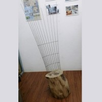 不銹鋼木櫈子 SSF2201