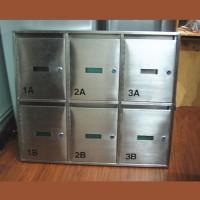 不銹鋼村屋信箱 SLB1201