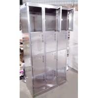 不銹鋼儲物櫃 W890 x D450 x H1780(mm) SSL0101 b