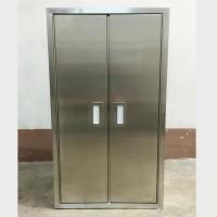 不銹鋼儲物櫃雙門  L400mm x D350mm x H700mm SSL0501 a