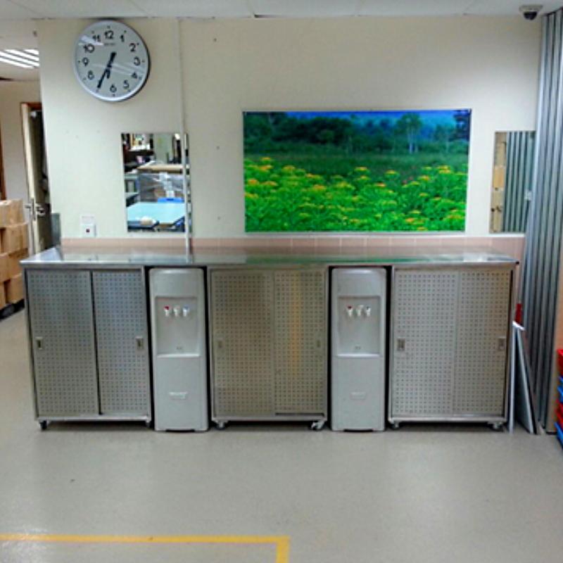 不銹鋼儲物櫃工程