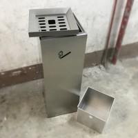 沙鋼方形煙蒂桶 SRB1001