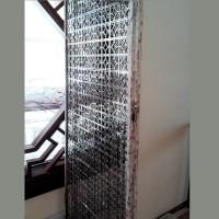 不銹鋼電鍍黑摺疊屏風 SCN0401 a