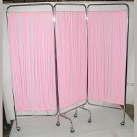 不銹鋼醫療屏風(粉色) SCN0901